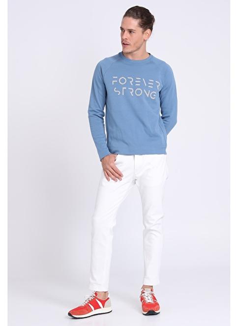 Lufian Sweatshirt Mavi